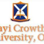 Ajayi Crowther University ACU tuition fees acceptance fee