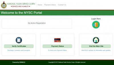 Portal.nysc.org.ng - NYSC Portal - How To Use