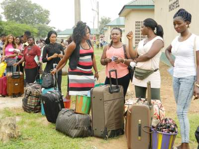 Abuja NYSC Camp Pictures