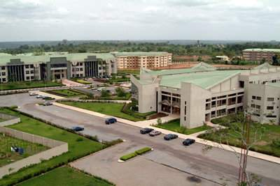 Covenant University Ota Aerieal View Pics