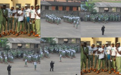 Lagos NYSC Camp Pictures