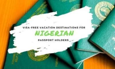Nigeria Visa Free Countries