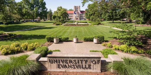 International Awards at the University of Evansville in the United States of America